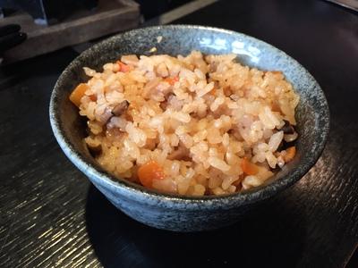 ロウカット玄米使用の炊き込みご飯