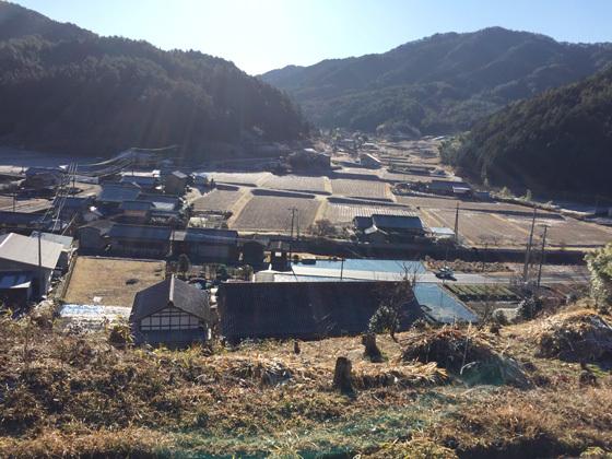 岐阜県白川町の風景