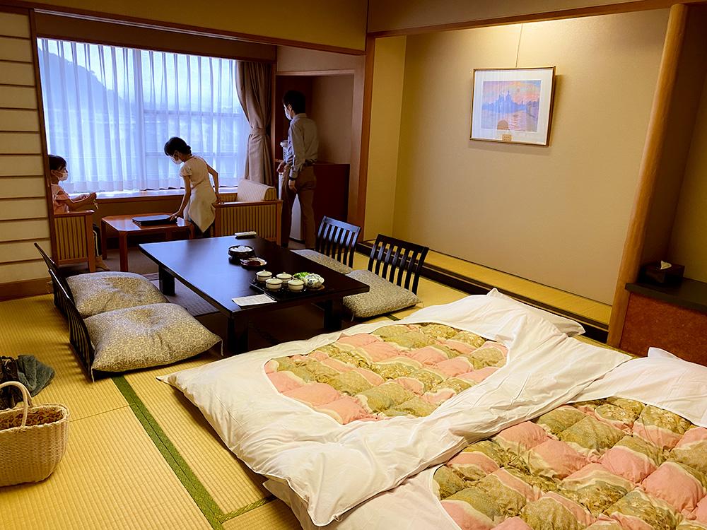 富嶽はなぶさ 客室