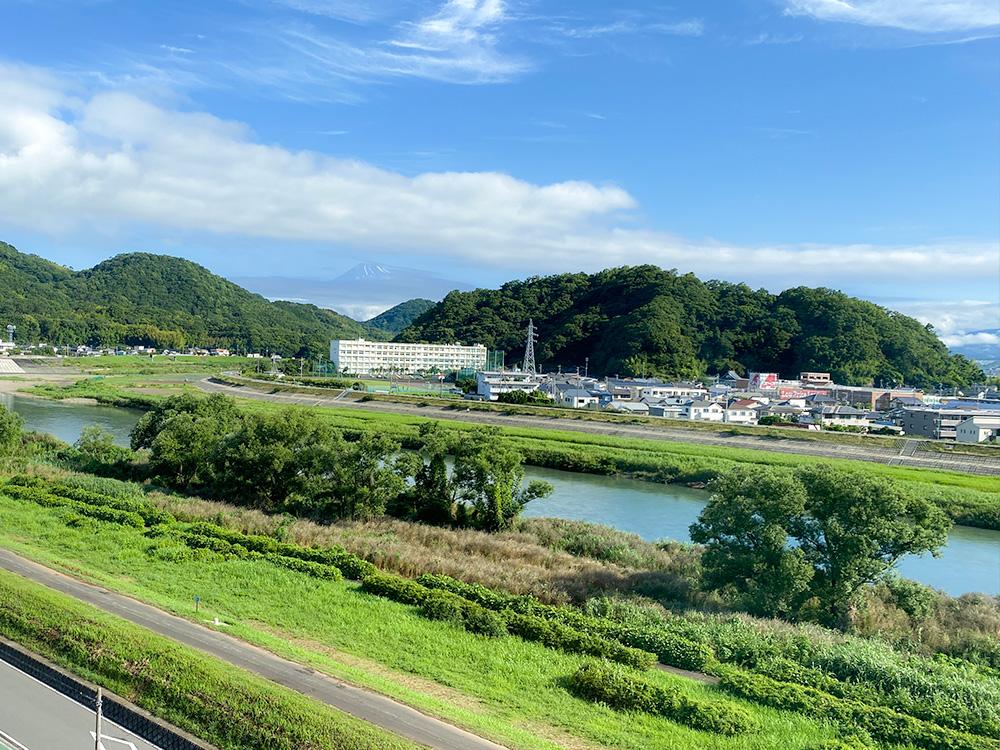 富嶽はなぶさ 客室からの景色