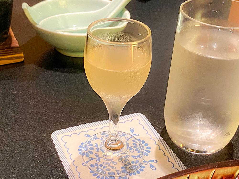 食前酒(生姜酒)