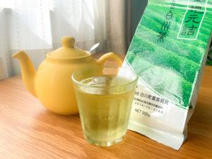 美濃白川茶と氷水出し緑茶