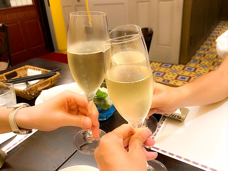 ninosa スパークリングワイン