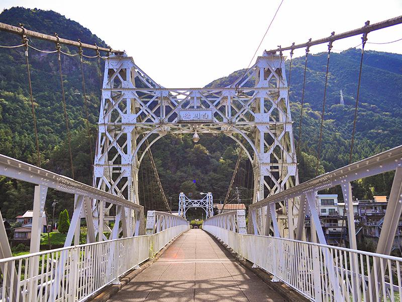 白川町の景色:白川橋