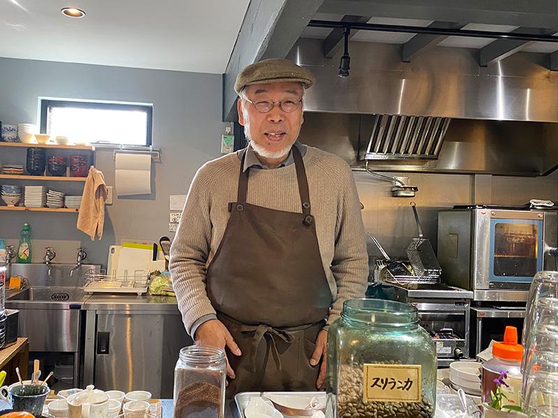 カフェ「わ」マスター 清田さん